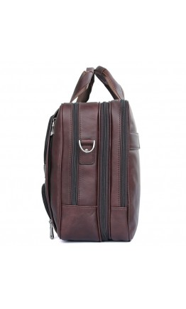 Большая универсальная кожаная мужская сумка 77289x