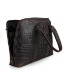 Фотография Прочная и практичная мужская кожаная сумка 77307r