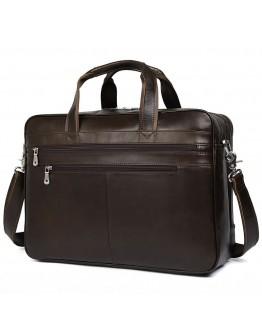 Вместительная коричневая сумка для командировок 77319C-1