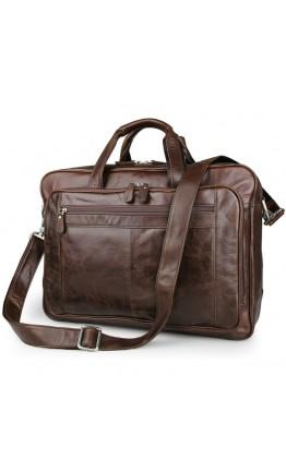 Большая коричневая сумка для командировок 77320c
