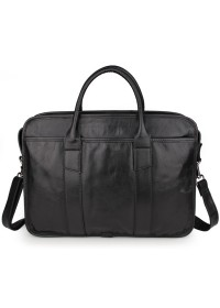 Удобная повседневная мужская черная сумка 77321a