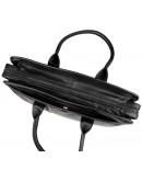 Фотография Удобная повседневная мужская черная сумка 77321a