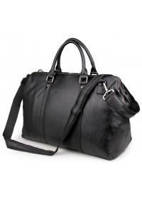 Чёрная мужская сумка для ручной клади 77322