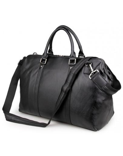 Фотография Чёрная мужская сумка для ручной клади 77322