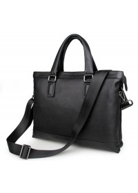 Оригинальная мужская кожаная сумка, черная 77327a