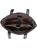 Фотография Чёрная кожаная сумка из мягкой кожи 77329a