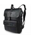 Фотография Удобный мужской кожаный рюкзак 77335A