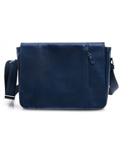 Фотография Большая синяя мужская сумка формата А4 77338 N