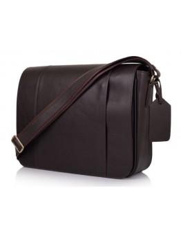 Коричневая большая мужская сумка на плечо 77338C2