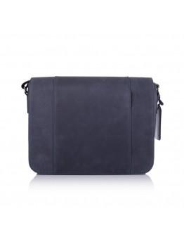 Синяя большая мужская сумка на плечо 77338K