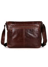 Большая кожаная сумка мужская на плечо 77338b