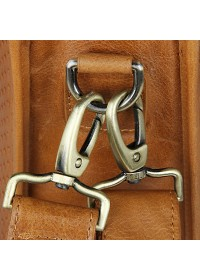 Удобный оригинальный портфель модного рыжего цвета 77339b