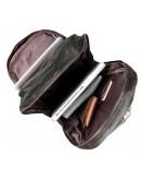 Фотография Большой тёмно-коричневый рюкзак из кожи 77340q