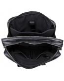 Фотография Кожаный чёрный мужской добротный портфель 77348a