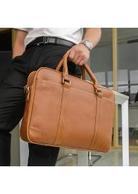 Модный коричневый стильный мужской портфель 77349b
