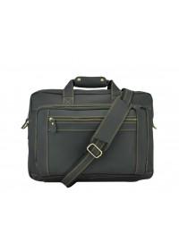 Вместительная мужская черная сумка 77367RA