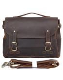 Кожаная мужская сумка с уникальным дизайном 77369R
