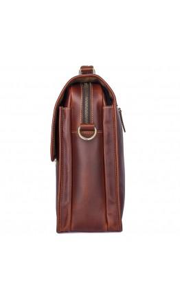 Портфель мужской кожаный коричневого цвета 77375X