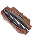 Фотография Портфель мужской кожаный коричневого цвета 77375X