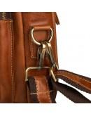 Фотография Мужской небольшой кожаный портфель 77378B
