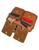 Мужской небольшой кожаный портфель 77378B