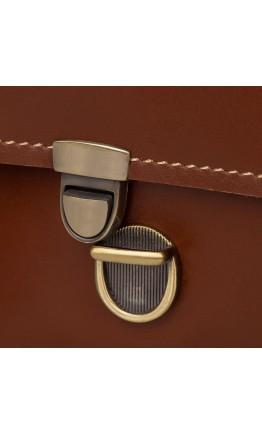 Коричневый оригинальный мужской портфель 77379B
