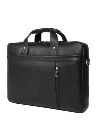 Кожаная деловая сумка для большого ноутбука 77386A