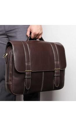 Мужская кожаная деловая сумка для ноутбука 77396Q