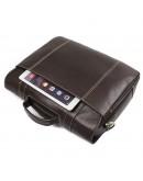 Фотография Мужская кожаная деловая сумка для ноутбука 77396Q