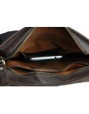 Фотография Кожаная деловая мужская сумка на плечо 775238-SKE
