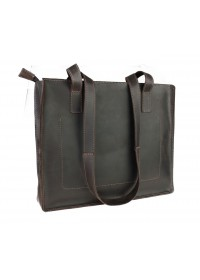 Коричневая женская кожаная сумка 77540W-SKE