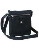 Фотография Черная мужская сумка - планшет 77661-SGE