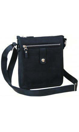 Черная мужская сумка - планшет 77661-SGE