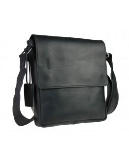 Черная кожаная мужская сумка через плечо 776740-SKE