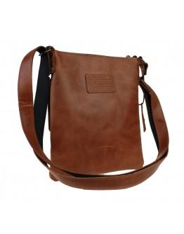 Мужская светло-коричневая сумка планшетка с клапаном 77725-SKE