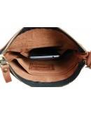 Фотография Мужская светло-коричневая сумка планшетка с клапаном 77725-SKE