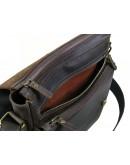 Фотография Кожаная мужская коричневая вместительная сумка 778822-SGE
