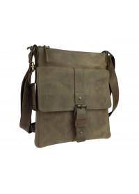 Мужская сумка-планшетка оливкового цвета 77925-SKE