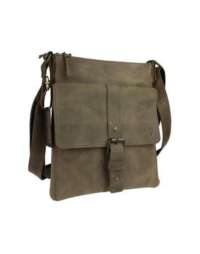 Фотография Мужская сумка-планшетка оливкового цвета 77925-SKE