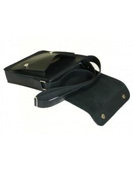 Вместительная мужская черная сумка из кожи 78008-SGE