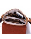 Фотография Компактная сумка на плечо из конской кожи 78009