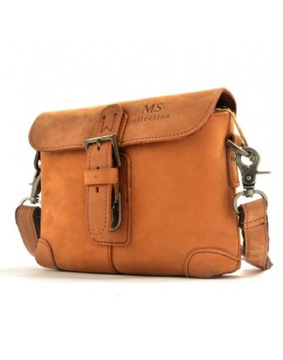 Фотография Повседневная сумка на плечо из лошадиной кожи 78010
