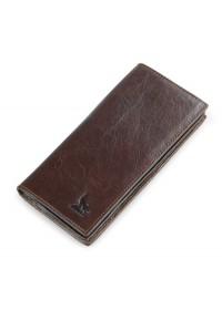 Мужское коричневое кожаное портмоне 78011-1Q