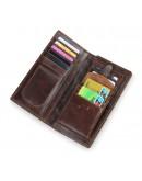 Фотография Мужское коричневое кожаное портмоне 78011-1Q