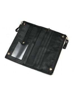 Черный мужской кожаный клатч 78027A