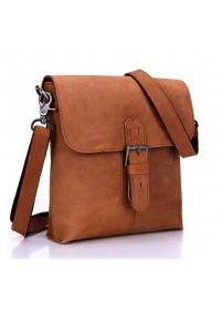 Отличная кожаная сумка через плечо для мужчин 78036
