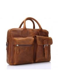 Оригинальный портфель мужской из конской кожи 78049