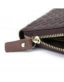 Фотография Кожаный коричневый мужской клатч - кошелек 78067C