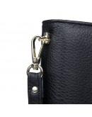Фотография Модная черная кожаная барсетка мужская 78069A