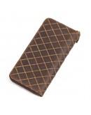 Фотография Мужское кожаное коричневое портмоне 78127-1R